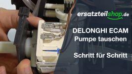 DeLonghi ECAM Pumpe - tauschen - ausbauen - einbauen