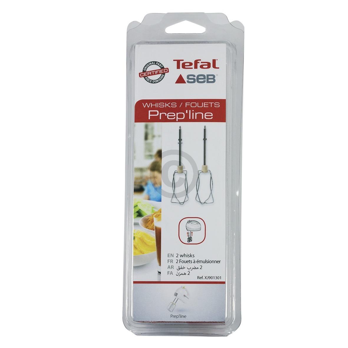 Rührbesen Tefal XJ-901301 Set rechts links für Handmixer