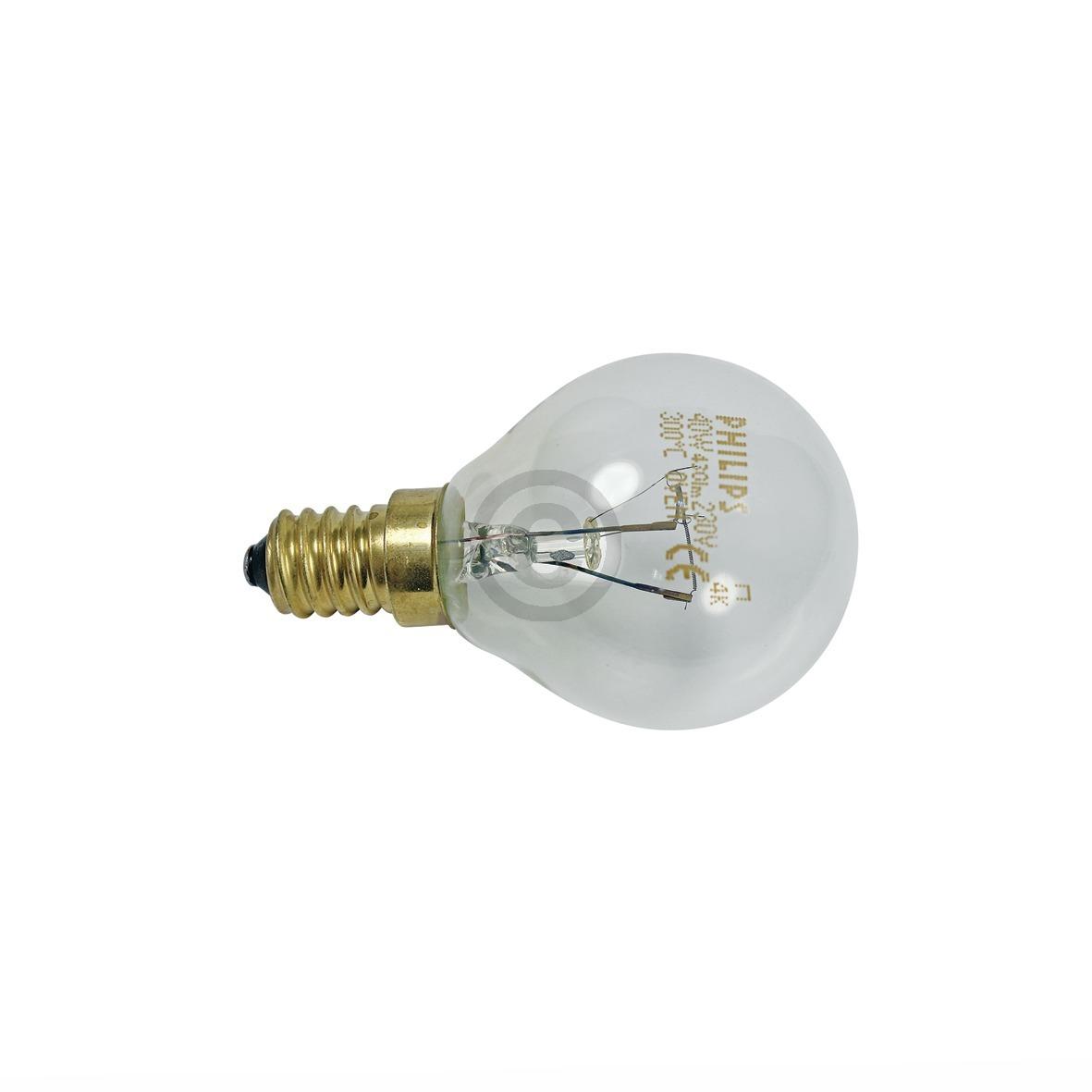 Lampe E14 40W Bosch 00057874 45mmØ 76mm 220/230V Kugelform Universal