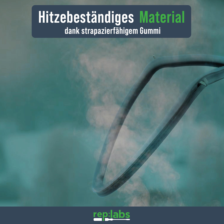 REP:LABS Backofen Gummidichtung - AT wie Bosch 00754066 - Dichtung für Bosch, Siemens, Neff, Constructa